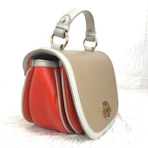 🌸OFFERS🌸Tory Burch Leather Color-block Crossbody